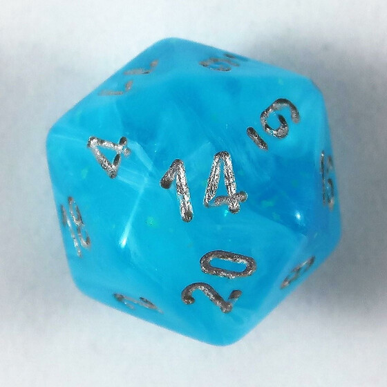 Chessex Luminary Sky W20