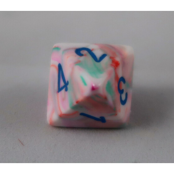 Chessex Festive Pop Art D8