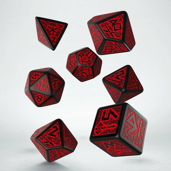 Dwarven black/red Set