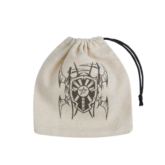 Dice bag Vampire Basic beige/Black