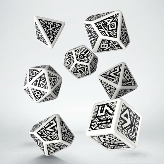 Dwarven white/black Set