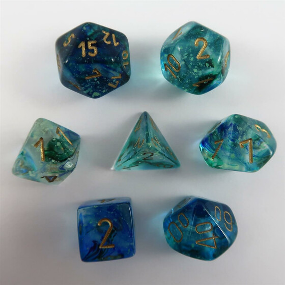 Chessex Nebula Oceanic Set boxed