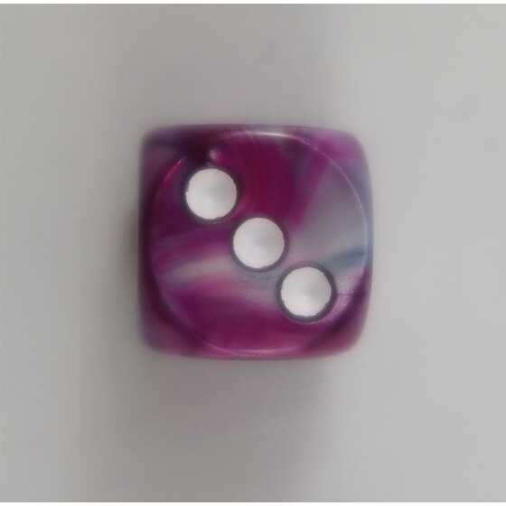 Chessex Leaf Amethyst D6 16mm