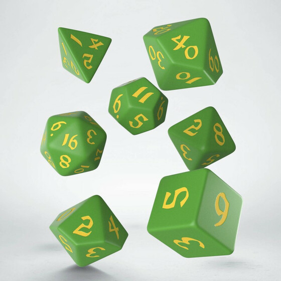 Classic Runic Green/yellow Set