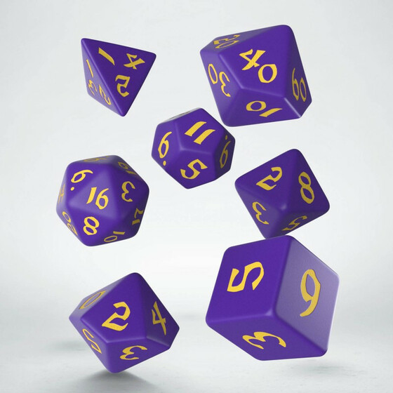 Classic Runic Purple/yellow Set