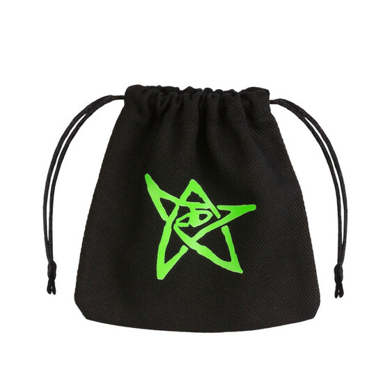 Dice Bag Call of Cthulhu black/green