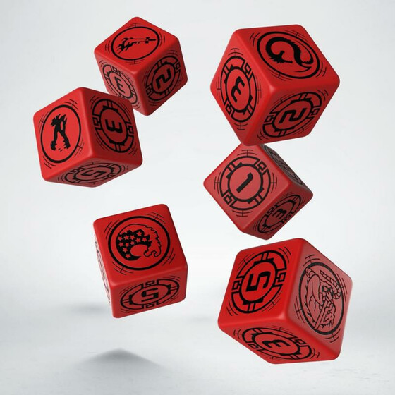 Battletech House Kurita Dice Set