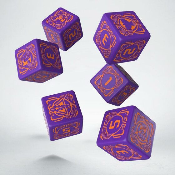 Battletech House Marik Dice Set