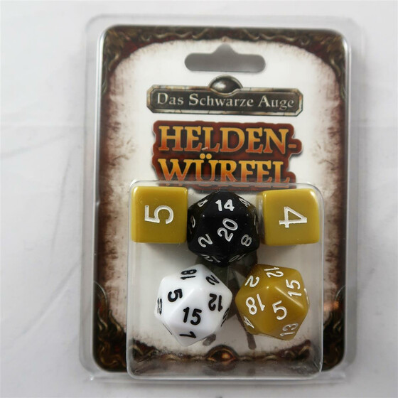 DSA 5 starter box: warrior dice set