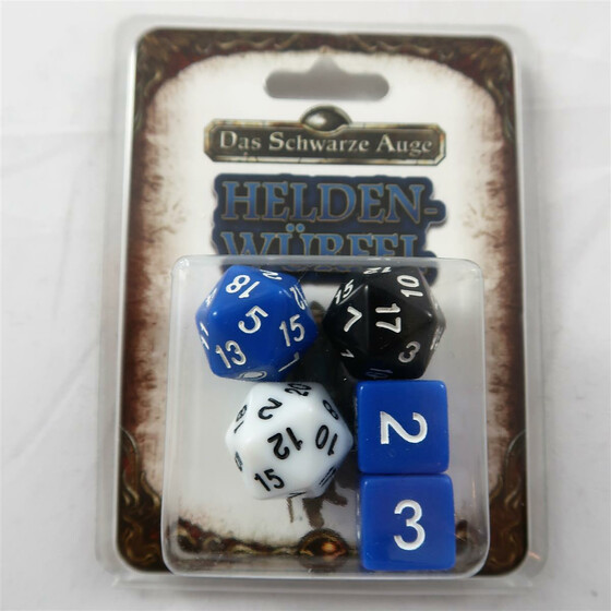 DSA 5 starter box: magician dice set
