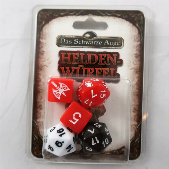 DSA 5 starter box: dwarven dice set