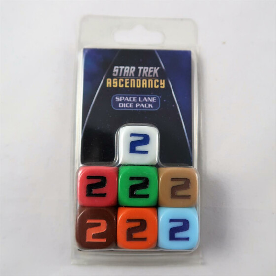 Star Trek Ascendancy: Space Line Dice Pack