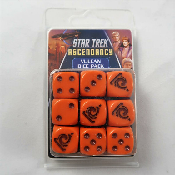 Star Trek Ascendancy: Vulcan Dice Pack