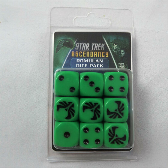 Star Trek Ascendancy: Romulan Dice Pack
