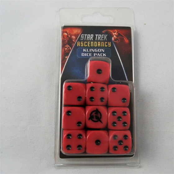 Star Trek Ascendancy: Klingon Dice Pack