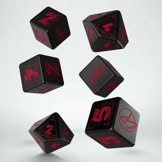 Cyberpunk Red Set Essential dice