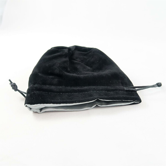 Velvet Dice Bag Black/grey