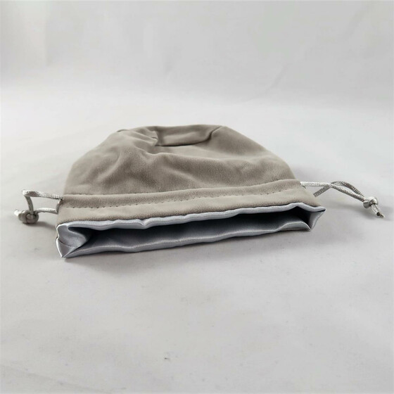 Velvet Dice Bag Grey/grey