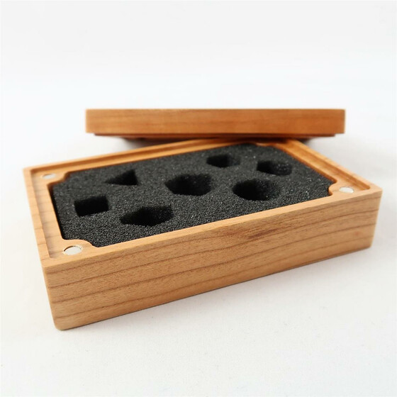 Wooden box Cherry rectangular