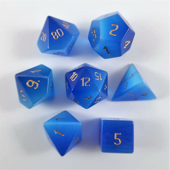 Catseye blue Set