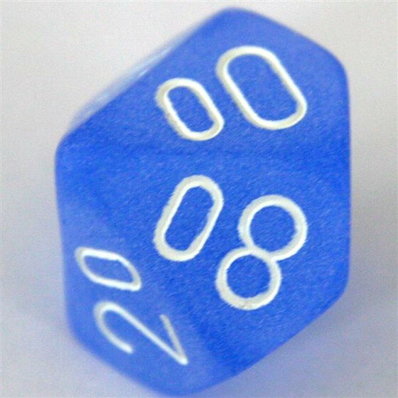 Chessex Frosted Blue W10%