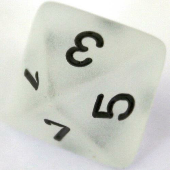 Chessex Frosted Clear W8