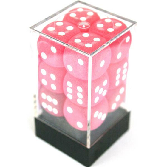 Chessex Frosted Pink D6 16mm Set