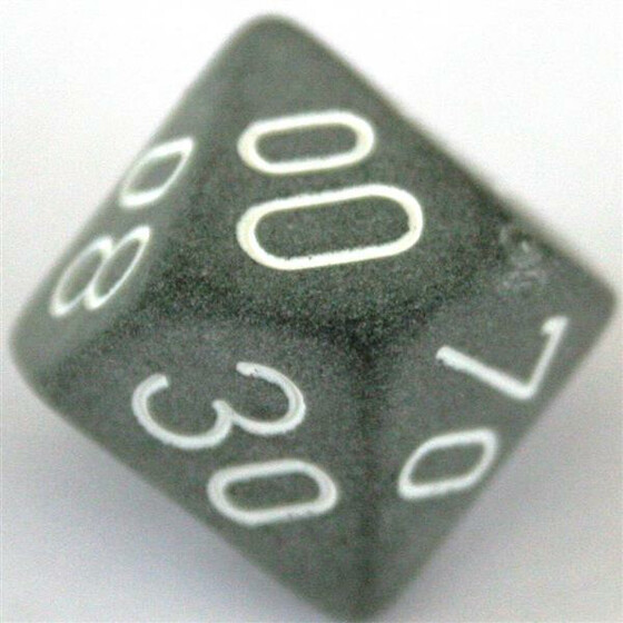 Chessex Frosted Smoke D10%