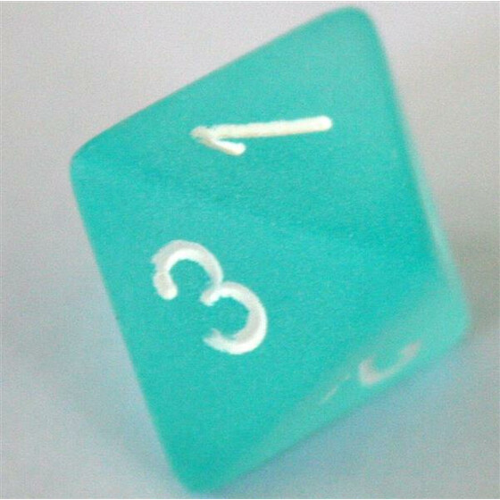 Chessex Frosted Teal W8