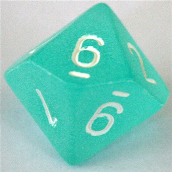 Chessex Frosted Teal D10