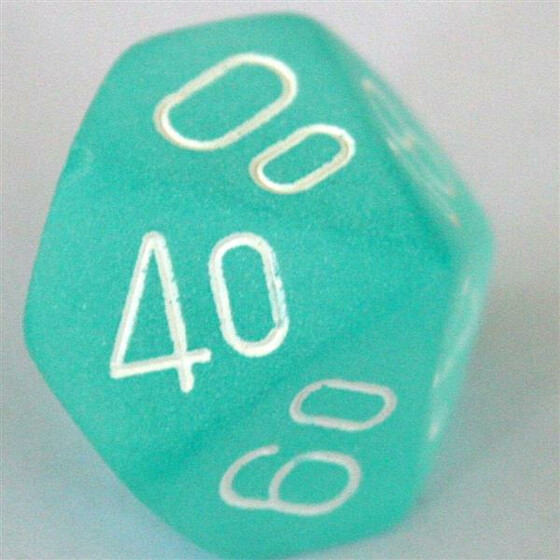 Chessex Frosted Teal W10%