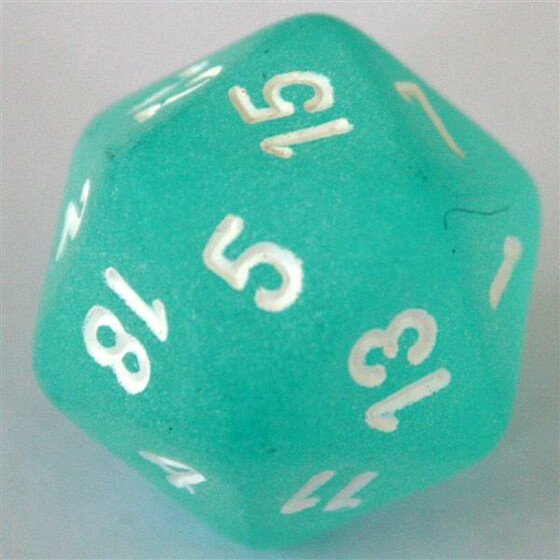 Chessex Frosted Teal D20