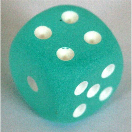 Chessex Frosted Teal W6 16mm
