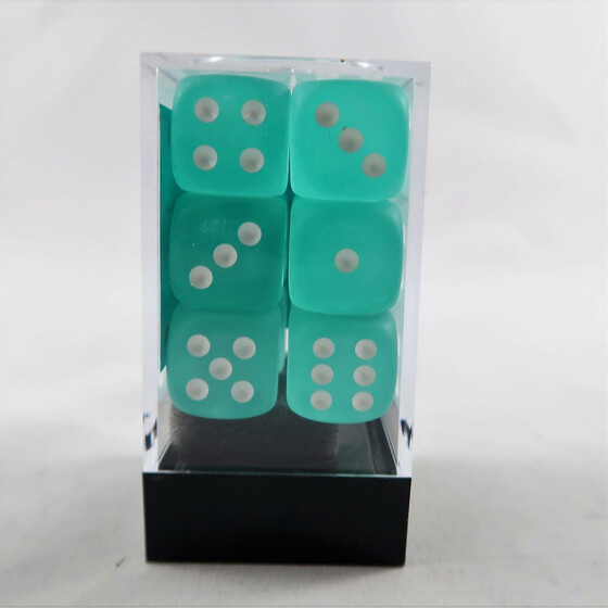 Chessex Frosted Teal D6 16mm Set