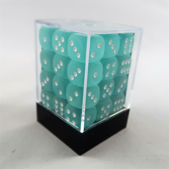 Chessex Frosted Teal W6 12mm Set