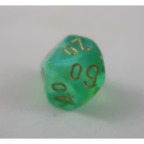 Chessex Borealis Light Green W10%
