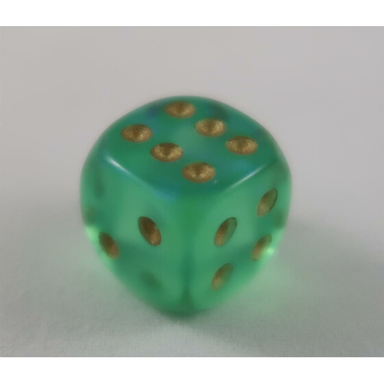 Chessex Borealis Light Green W6 12mm