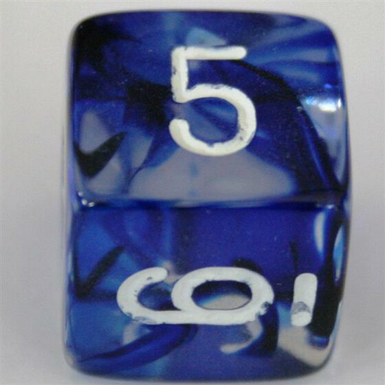 Chessex Nebula Dark Blue W6