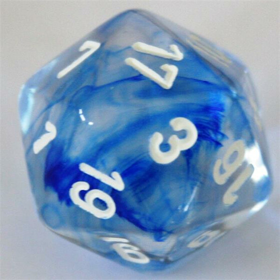 Chessex Nebula Dark Blue W20
