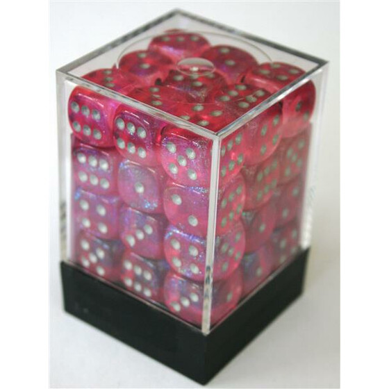 Chessex Borealis Pink D6 12mm Set