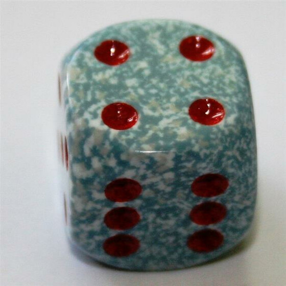Chessex Speckled Air D6 12mm