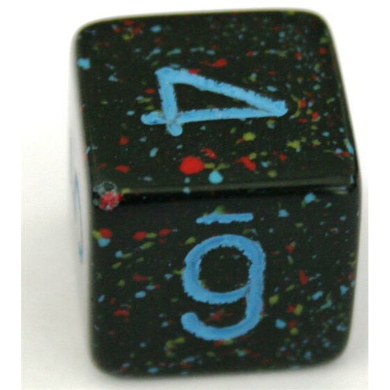 Chessex Speckled Blue Star W6