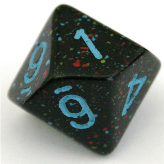 Chessex Speckled Blue Star W10