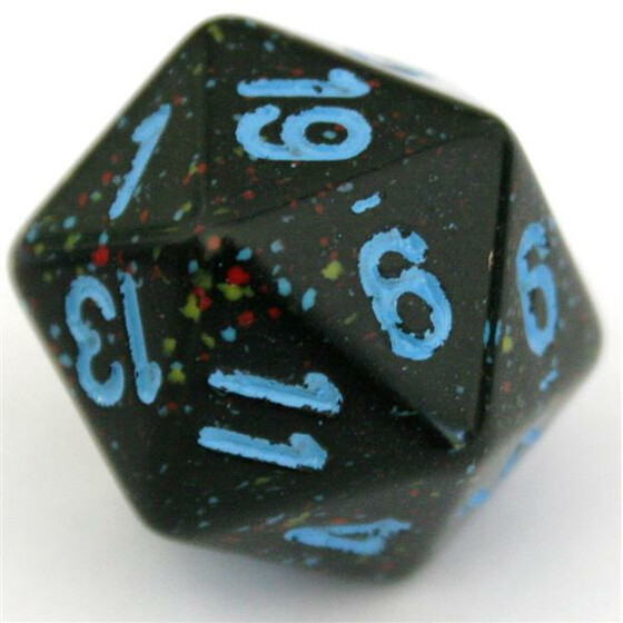 Chessex Speckled Blue Star W20
