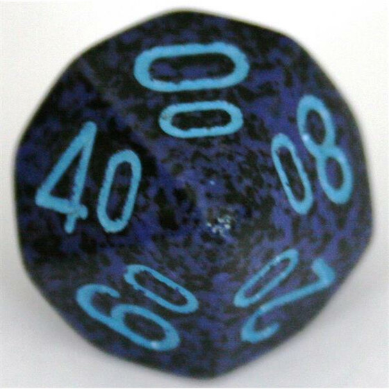 Chessex Speckled Cobalt W10%