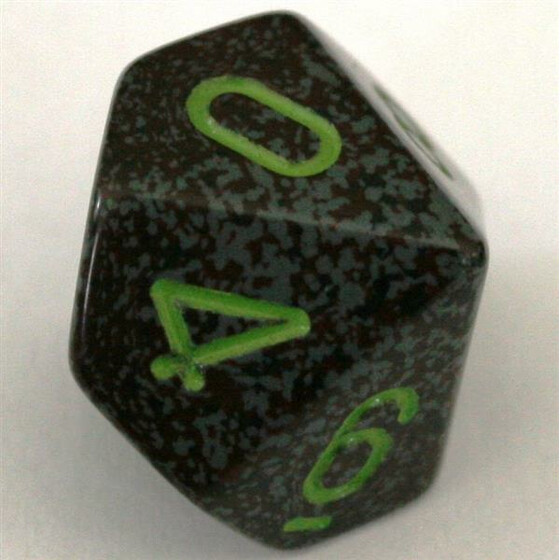 Chessex Speckled Earth D10