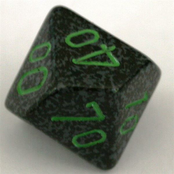 Chessex Speckled Earth D10%