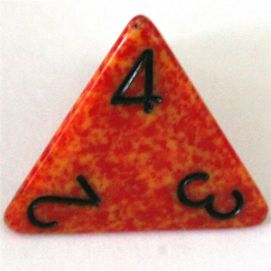 Chessex Speckled Fire W4