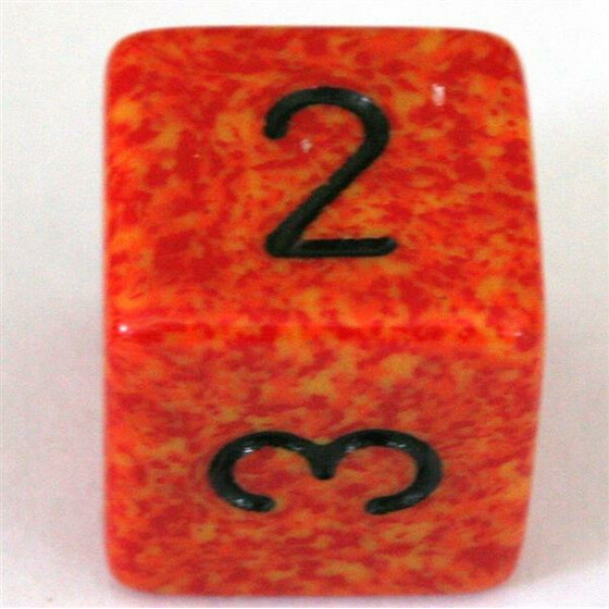 Chessex Speckled Fire W6