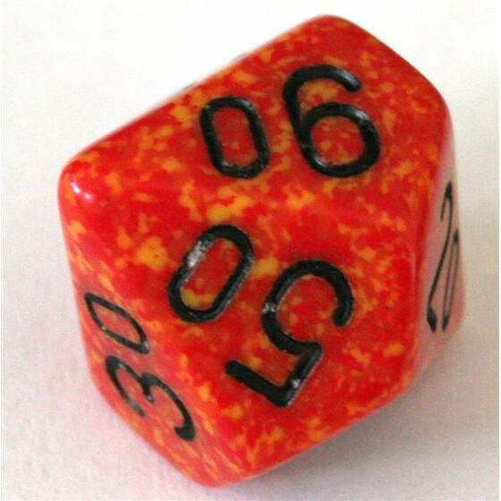 Chessex Speckled Fire W10%